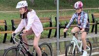 děti na kole